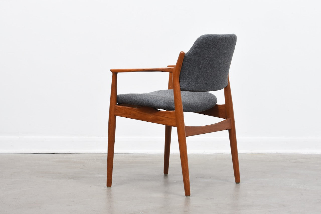 Model 62A teak armchair by Arne Vodder