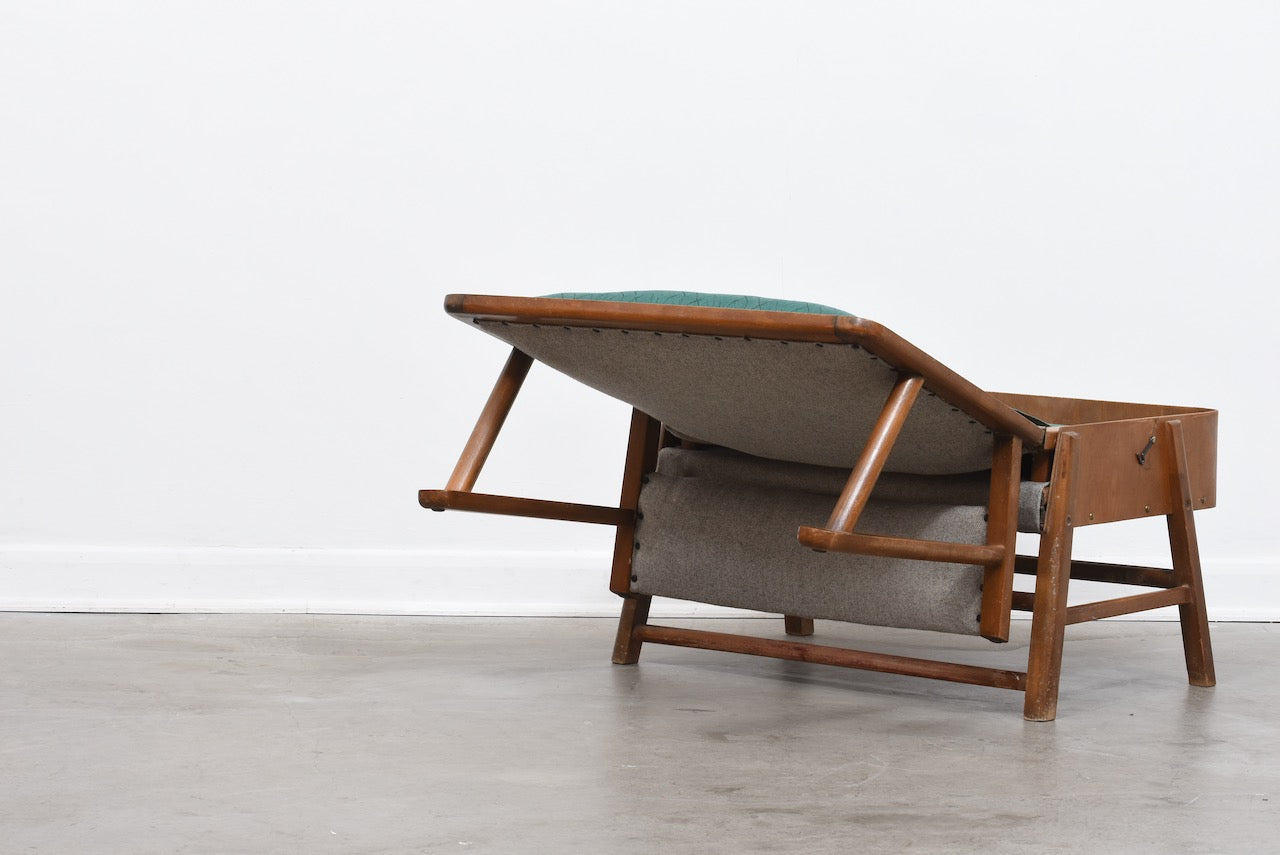 1940s transforming chair/bed by Frede Andersen