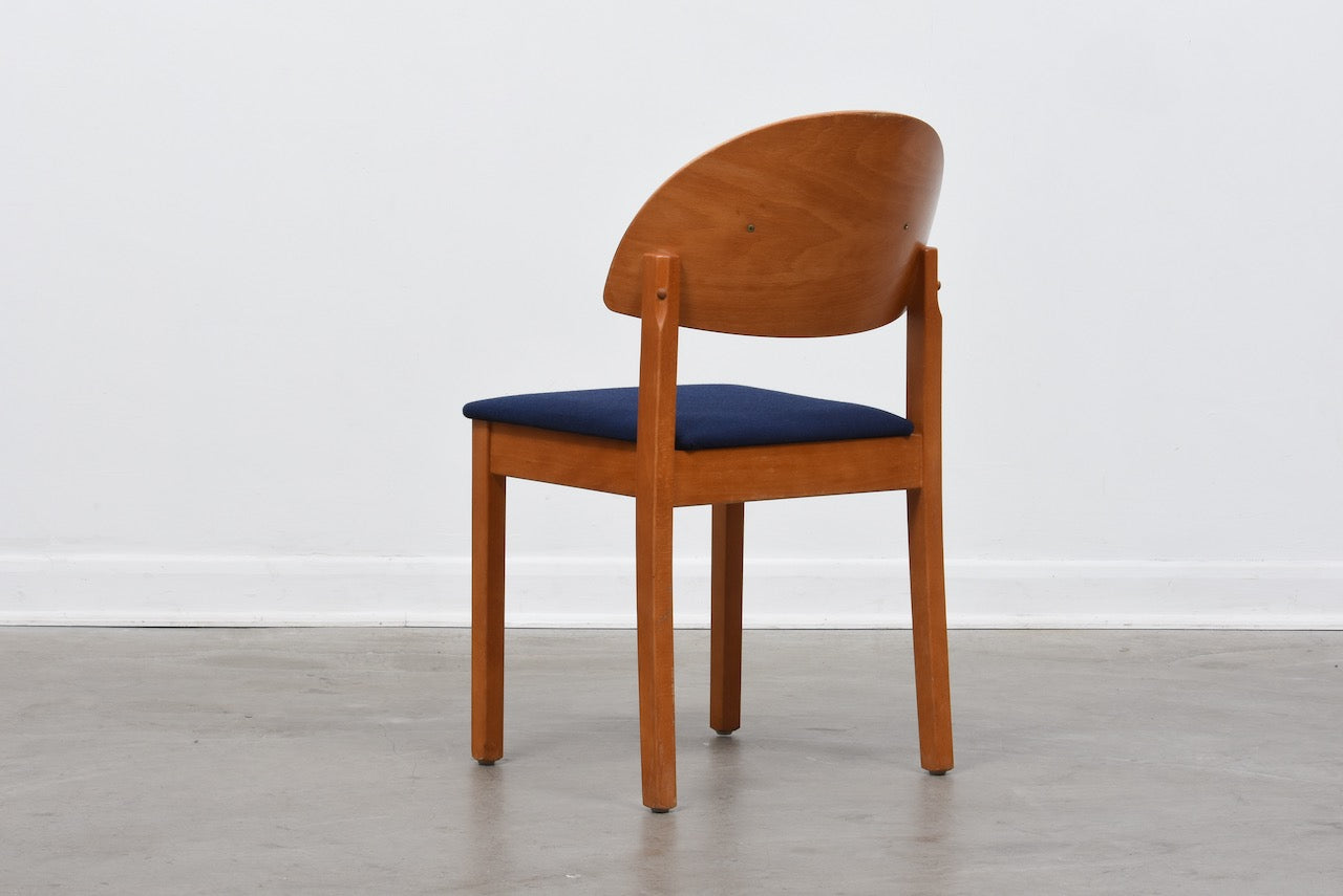 Set of four dining chairs by Baltzar Beskows AB