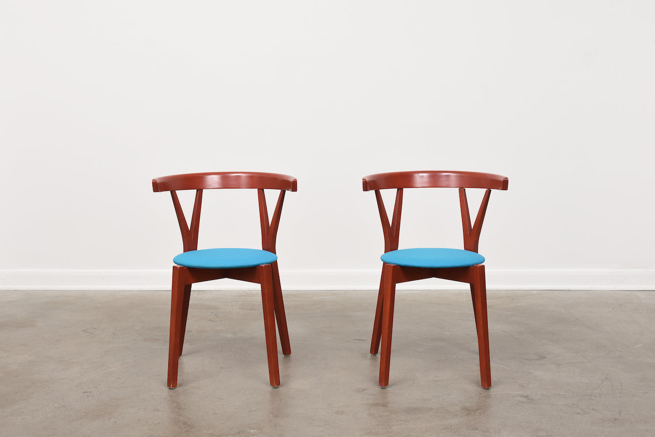 Two available: 'Klyka' chairs by Mårten Cyrén & Jonas Osslund