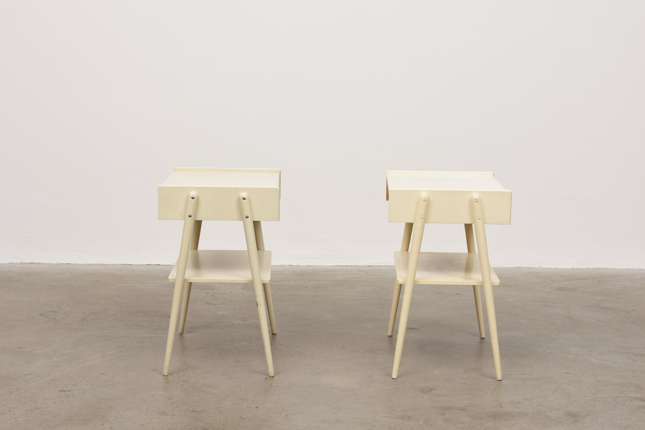 Pair of bedside table by AB Carlström & Co
