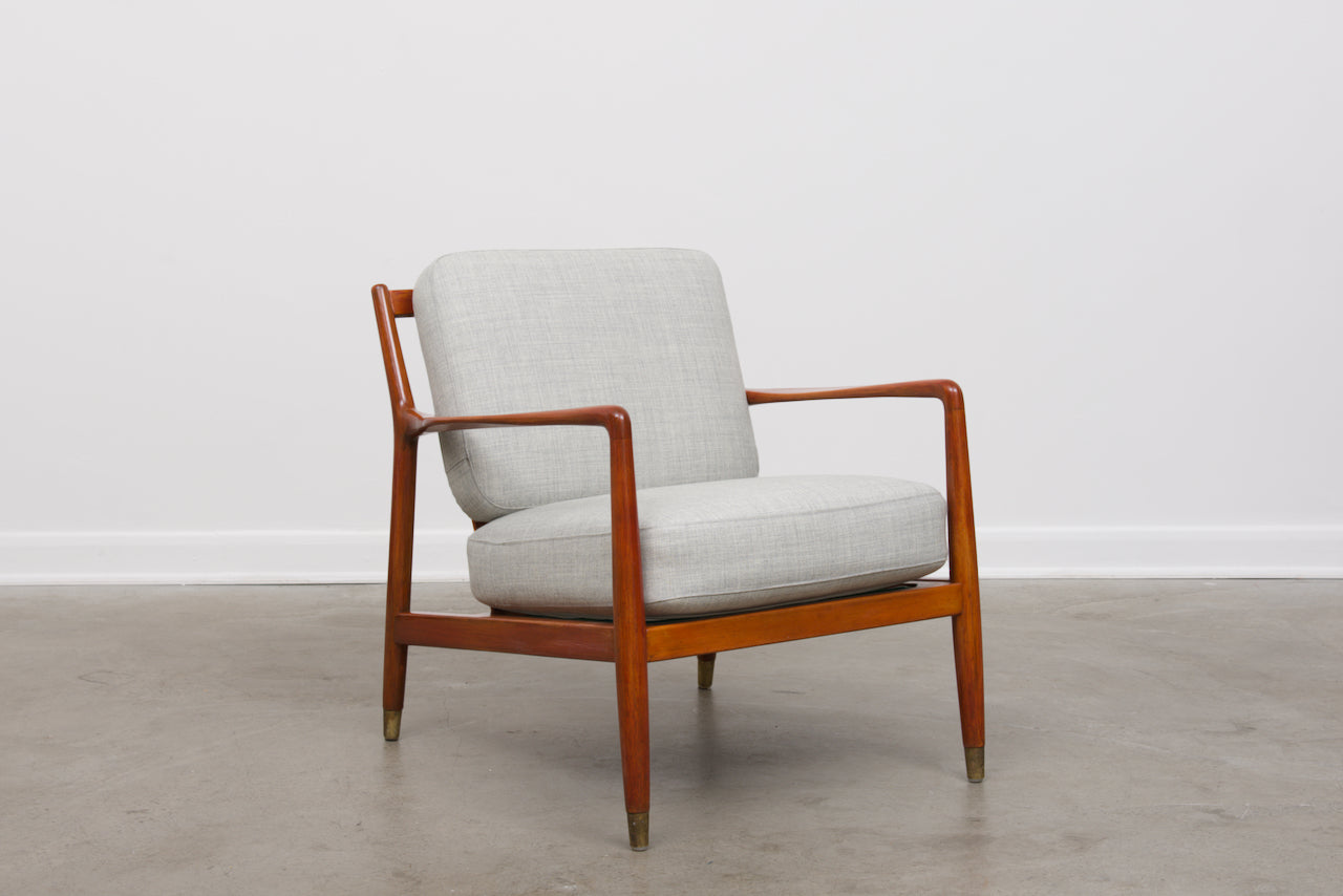 1950s lounge chair by Folke Ohlsson