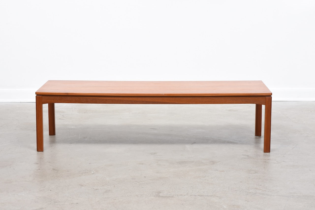 Teak plant table / coffee table