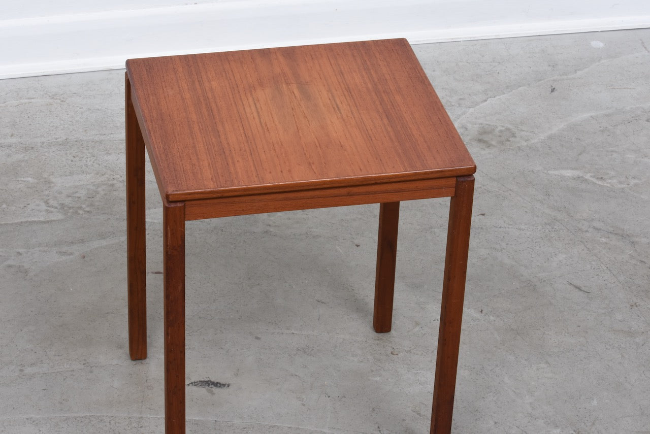 1960s teak side table