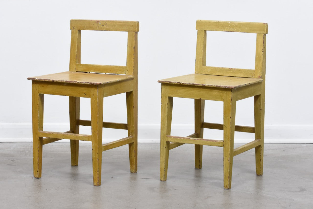 Two available: Late 1800s Swedish chairs