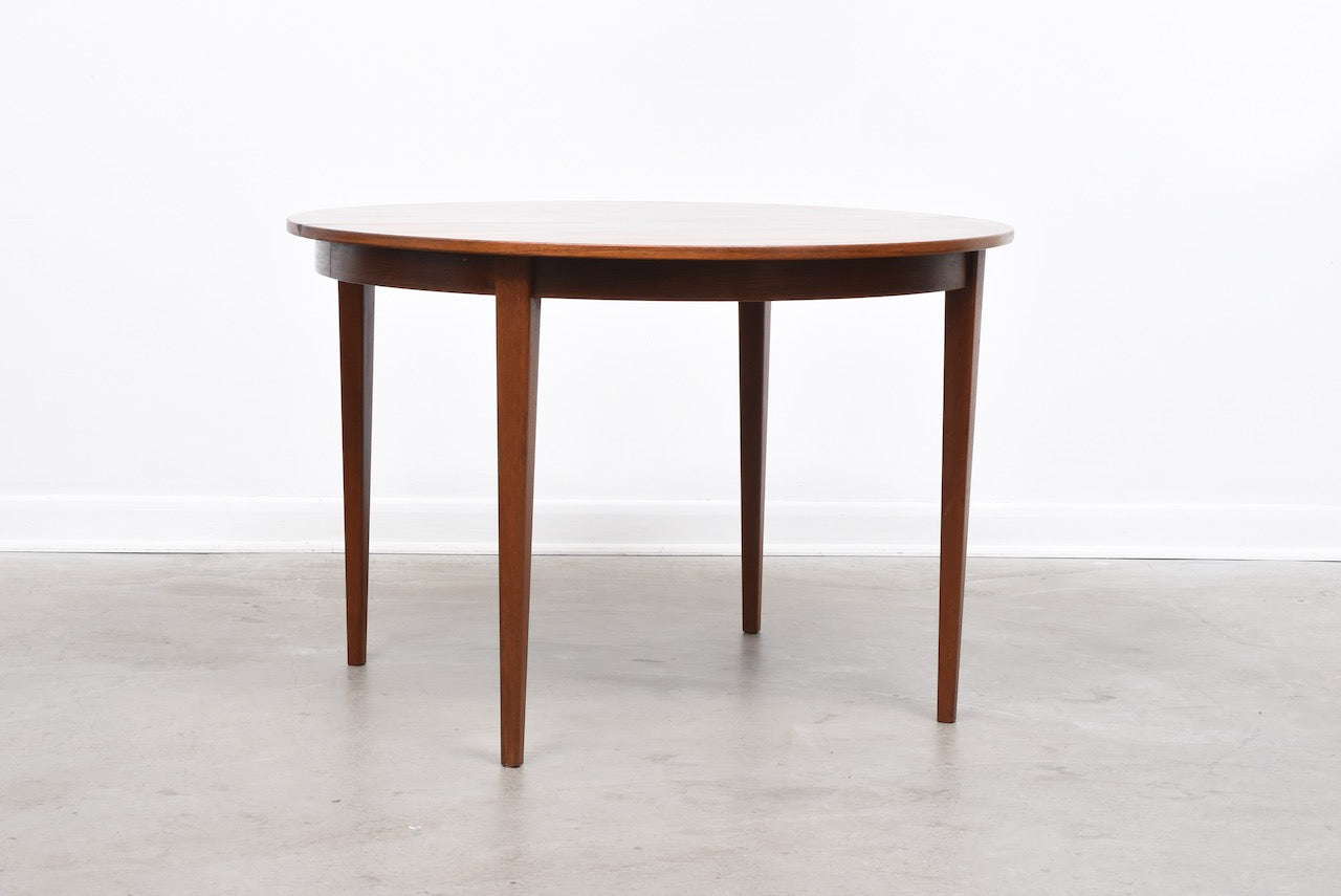 1960s extending rosewood dining table
