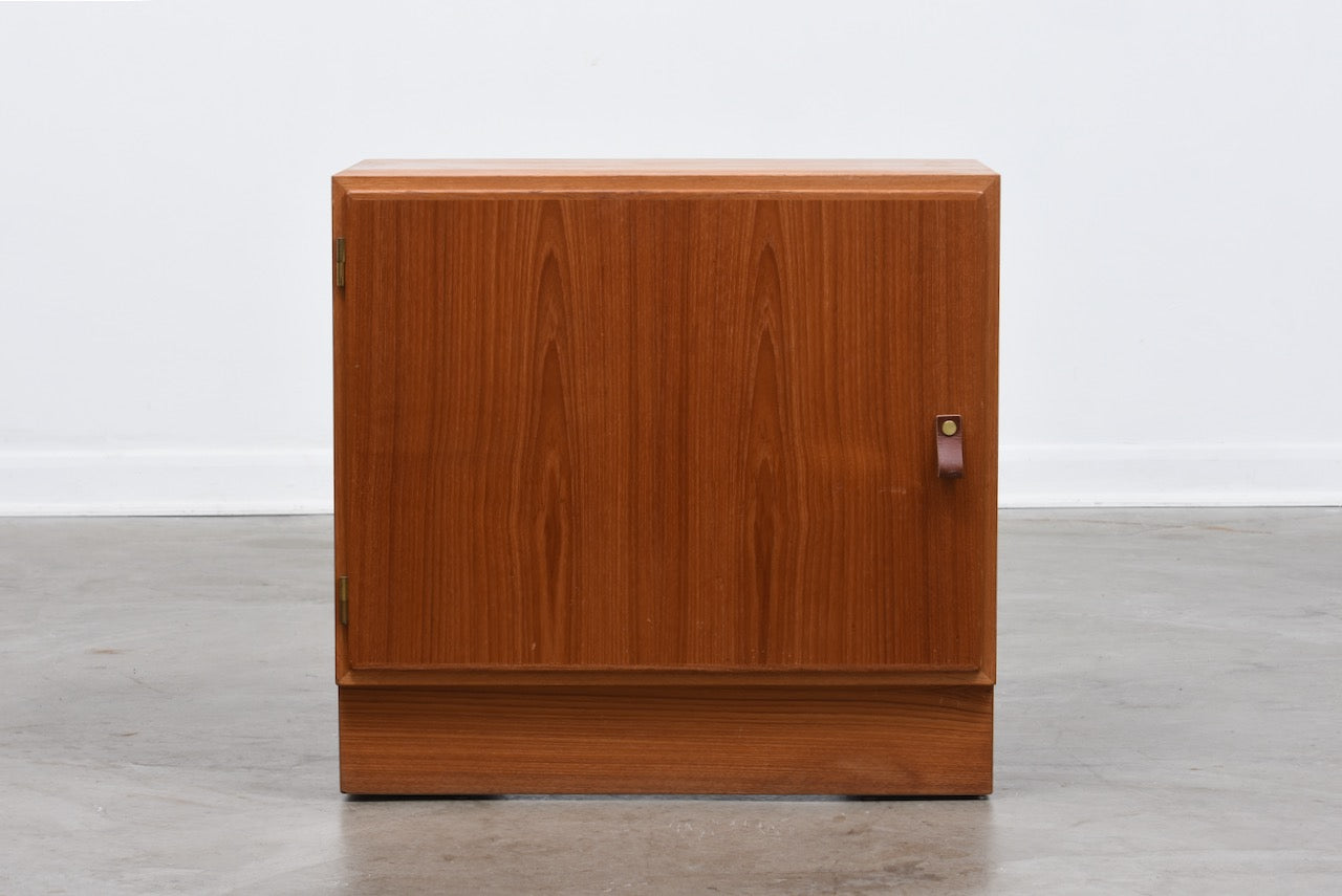 Low teak cabinet by Hundevad