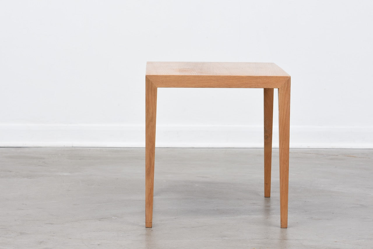 Side table in oak by Haslev
