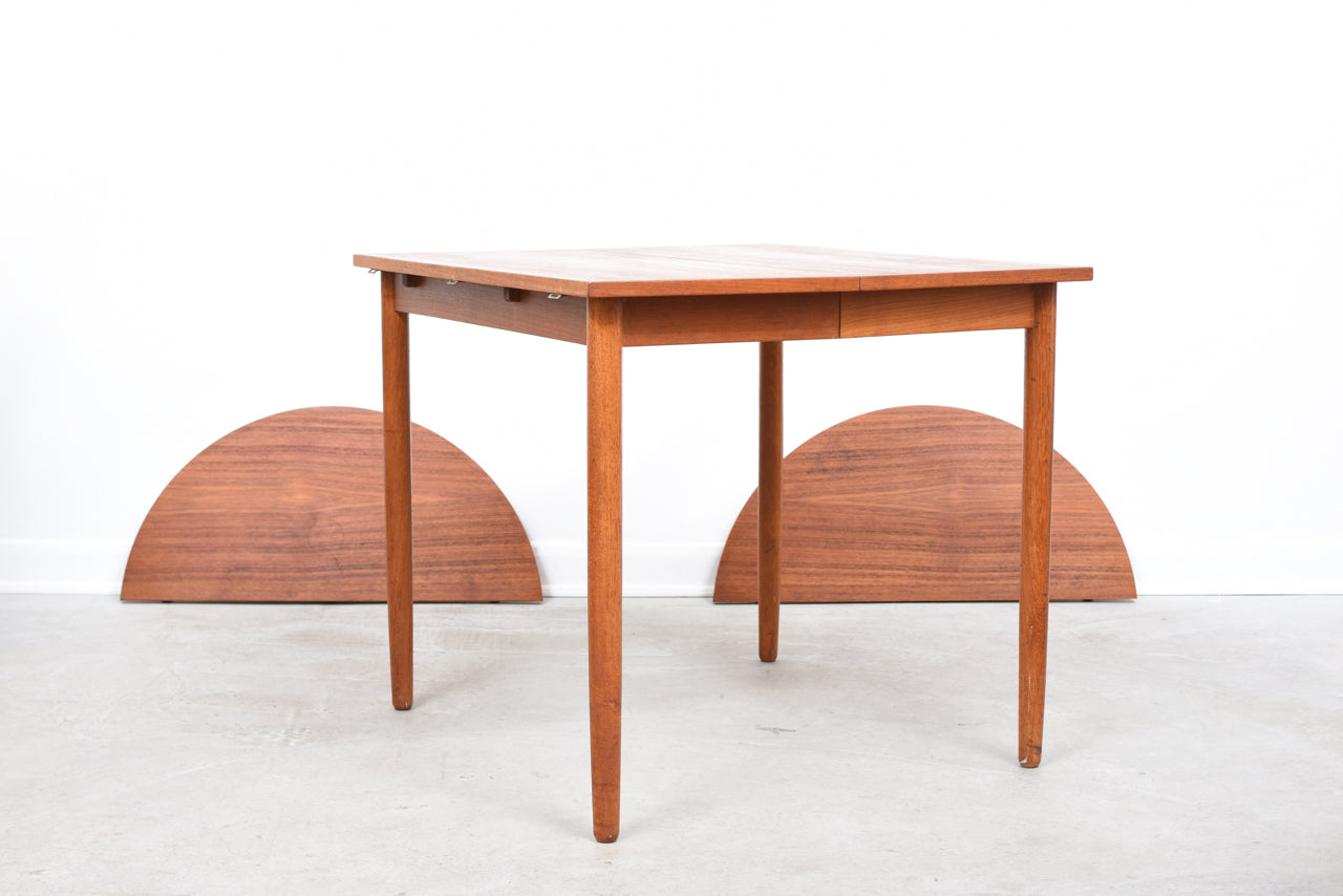 PrebenMay18 Extending square dining table in teak