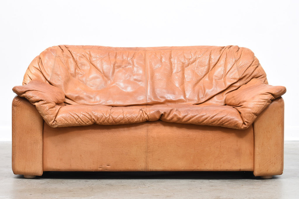 1970s aniline leather sofa by N. Eilersen