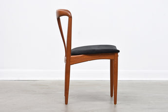 One available: 'Juliane' chairs in teak by Johannes Andersen