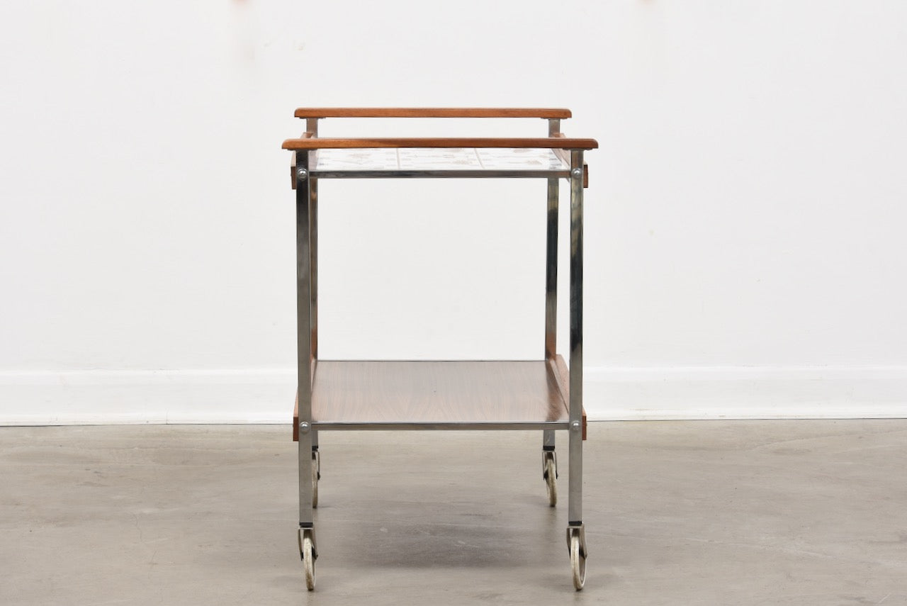 1960s Swedish trolley table