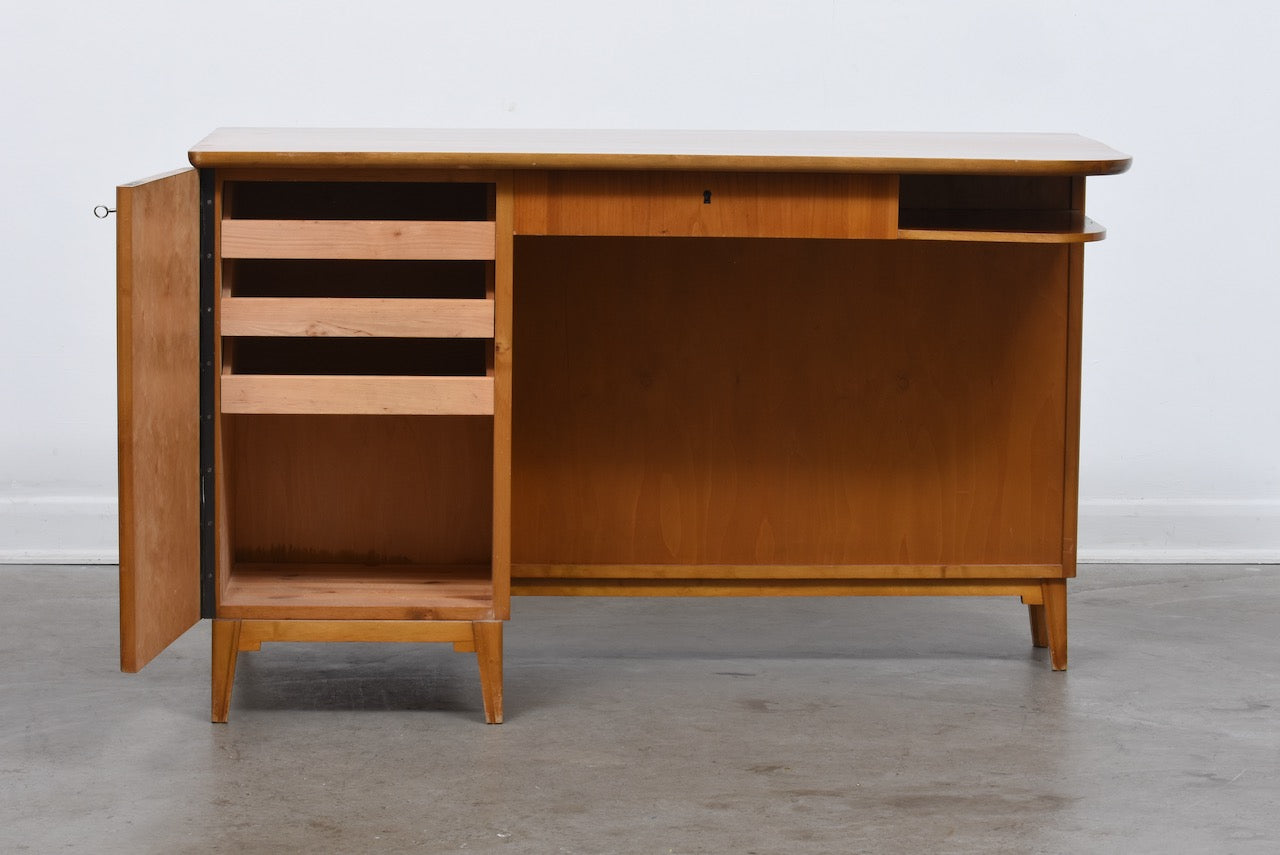 1940s Swedish birch desk