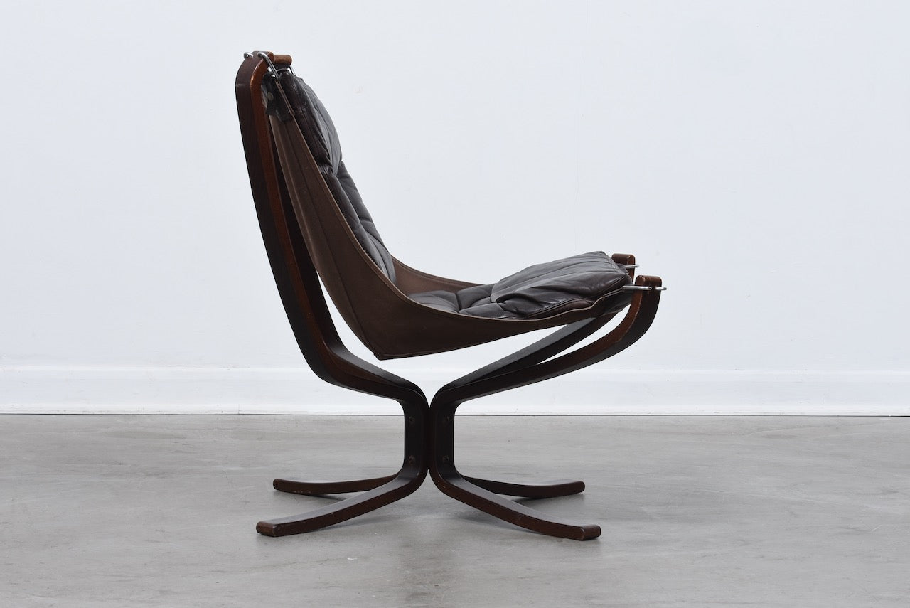1970s Falcon chair by Sigurd Ressel