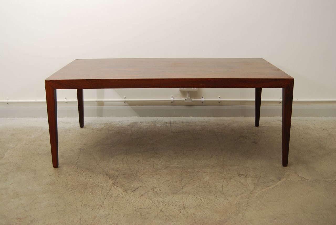 Rosewood coffee table by Severin Hansen