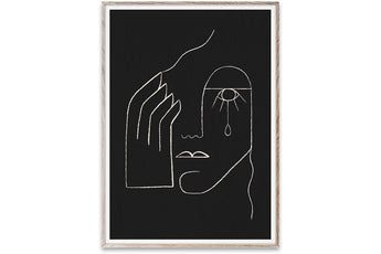 Single Tear by Kit Agar - 50 x 70 cm