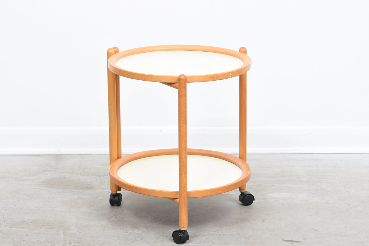 LeneMay18 1970s trolley with removable trays