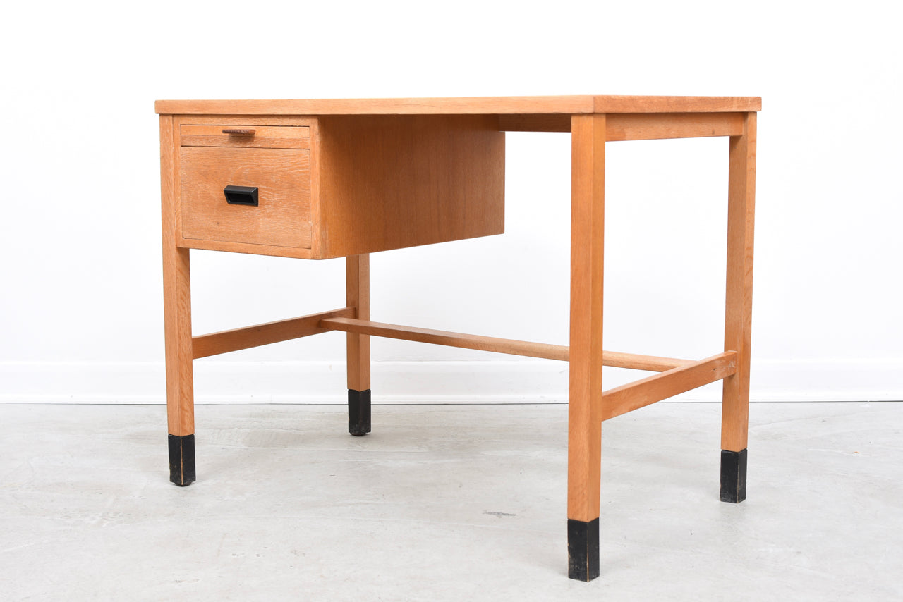 1960s single pedestal desk