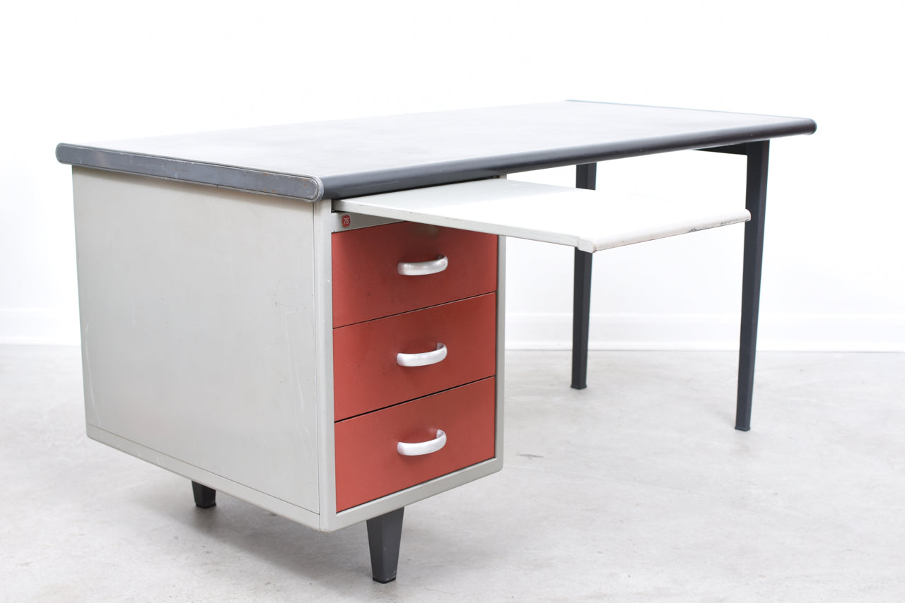 Model 78 steel desk by A.R. Cordemeijer