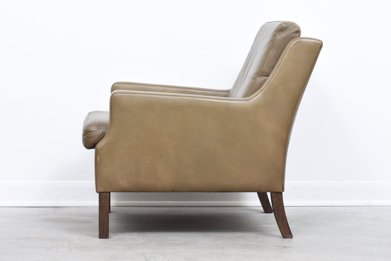 PrebenMay18 1960s leather club chair