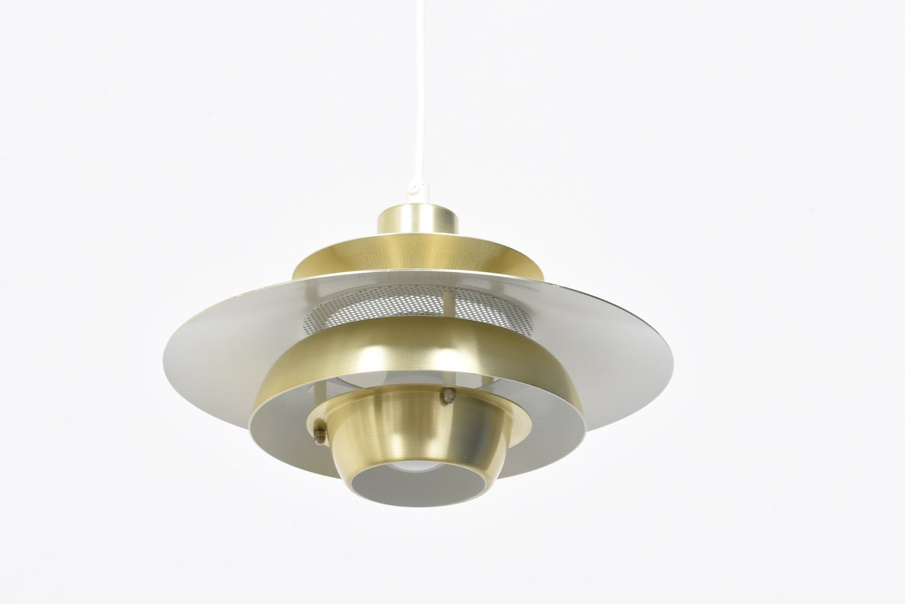 Multi-tiered Danish ceiling pendant by Jeka