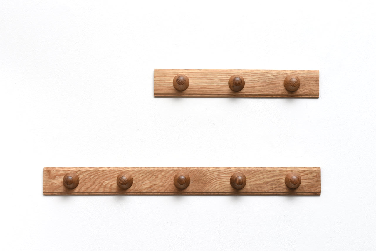 Allé coat hooks by Philip Bro for FDB Møbler