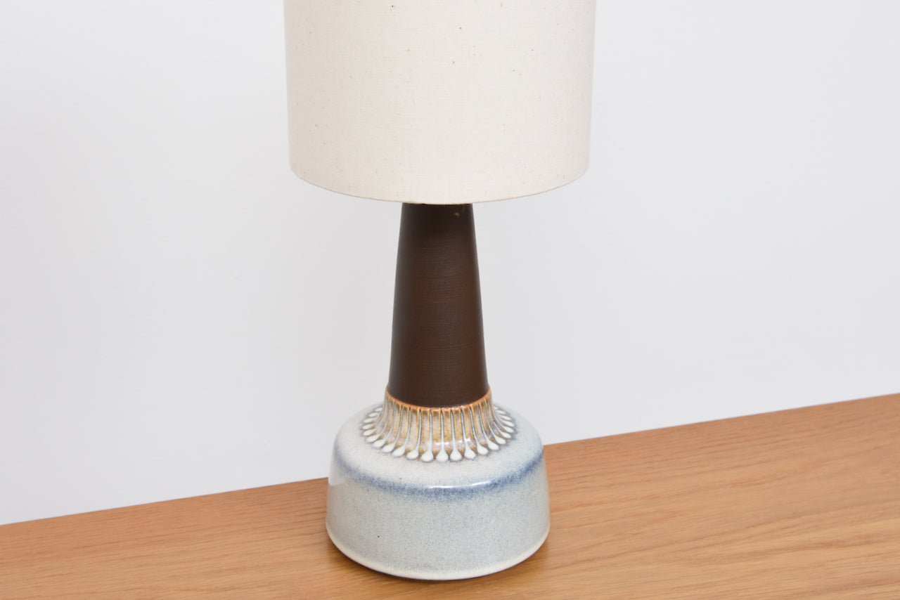 Ceramic table lamp by Einar Johansen