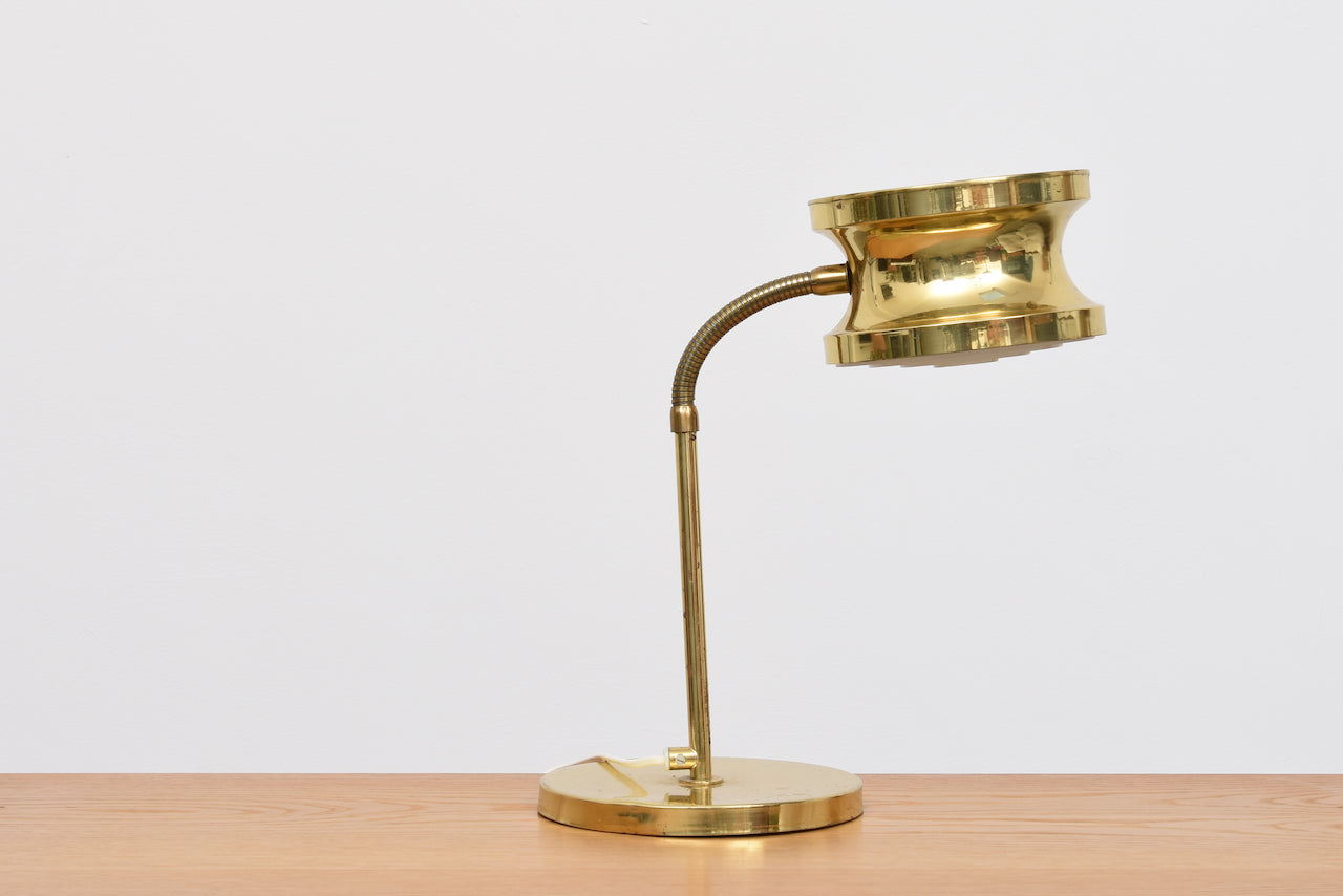 1960s brass table lamp by Tyringe Konsthantverk