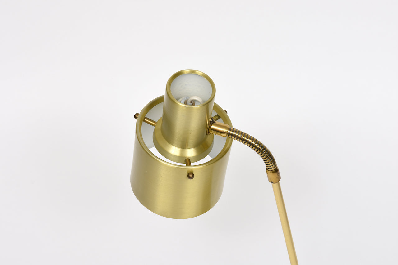 Brass table lamp by EWÅ