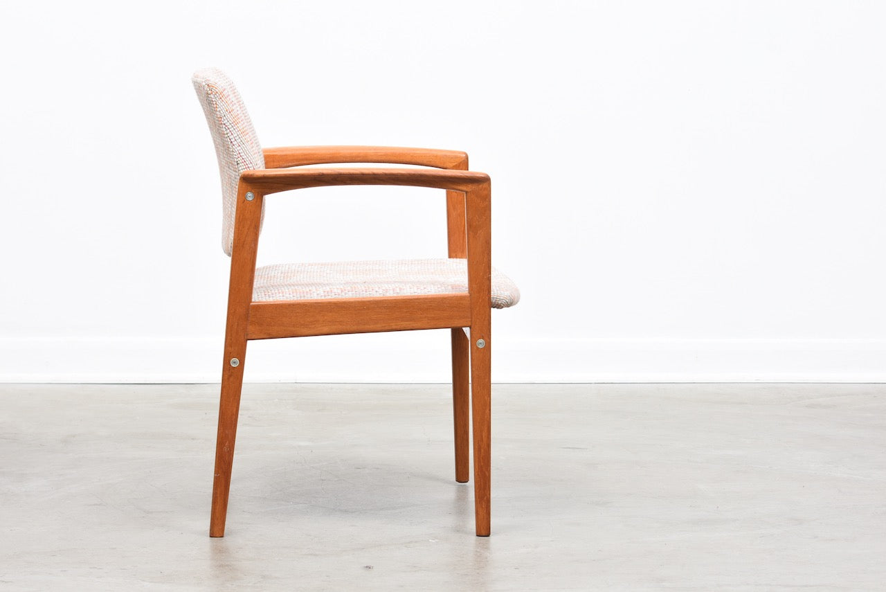 1960s Swedish teak armchair