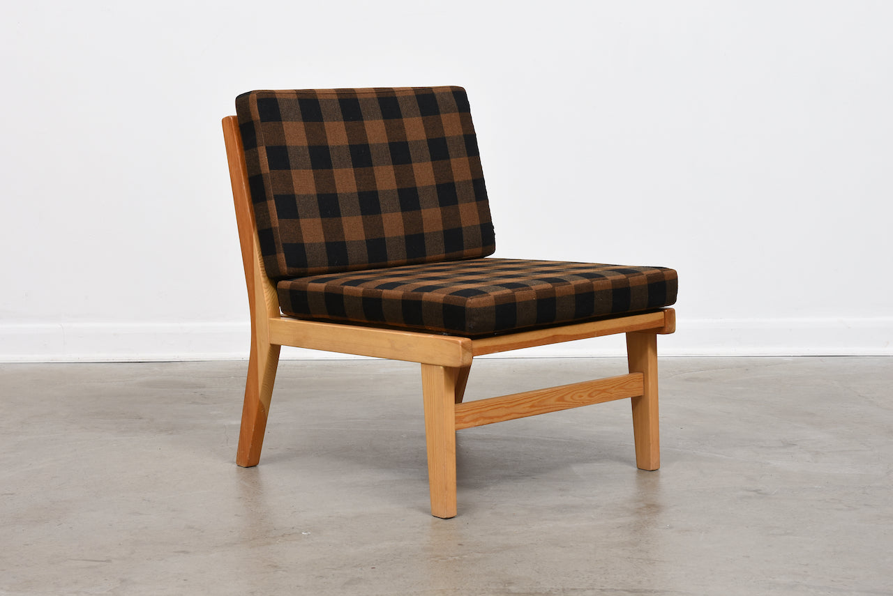 Three available: 1970s Swedish pine loungers