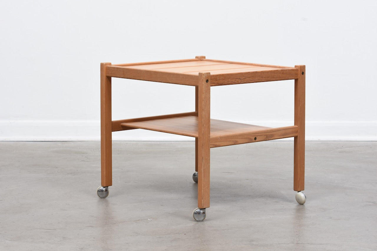 1970s trolley table by Yngve Ekström