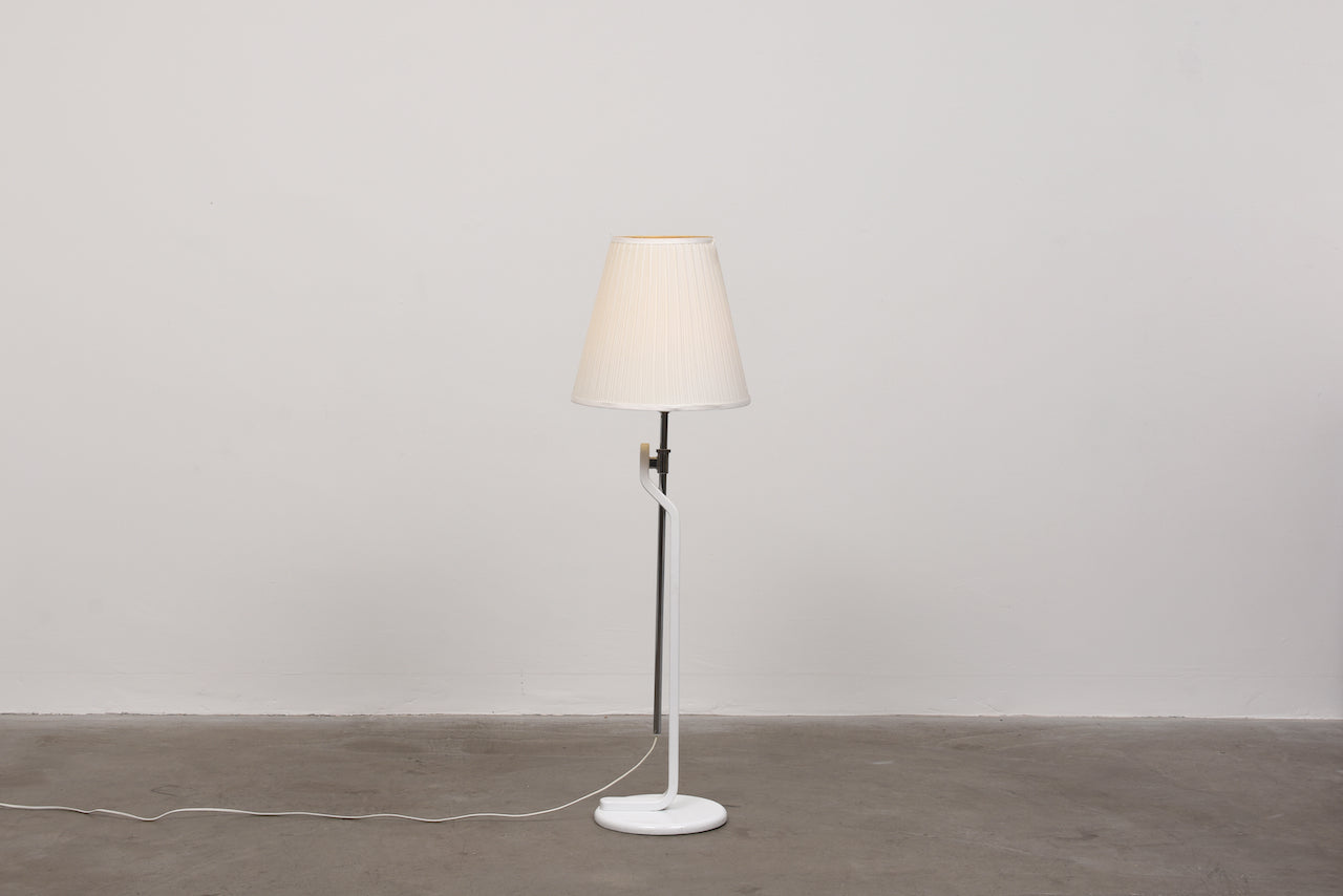 1980s floor lamp by Ateljé Lyktan