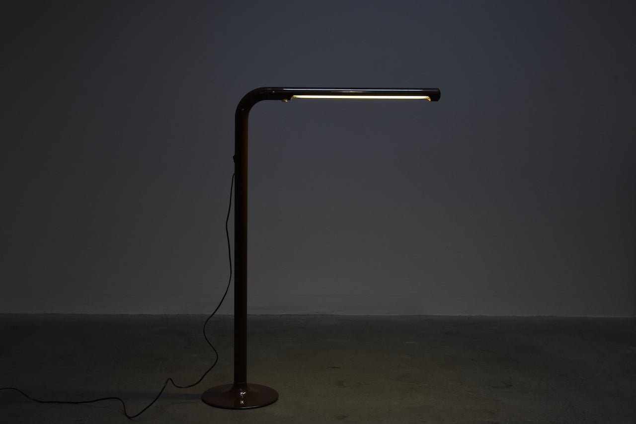 Tuben floor light by Anders Pehrsson