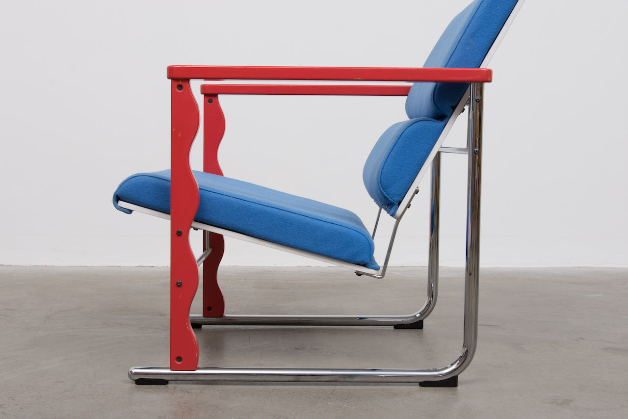 1980s 'Experiment' chair by Yrjö Kukkapuro