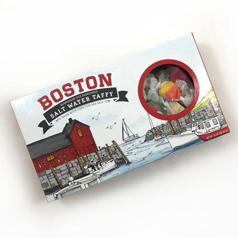 boston salt water taffy for welcome gifts