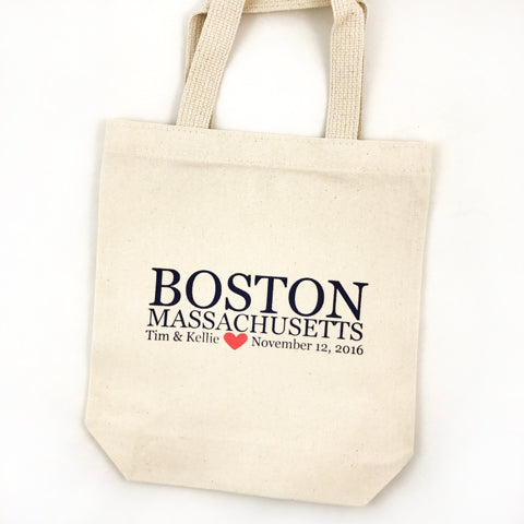 boston ma totes for wedding welcome bags