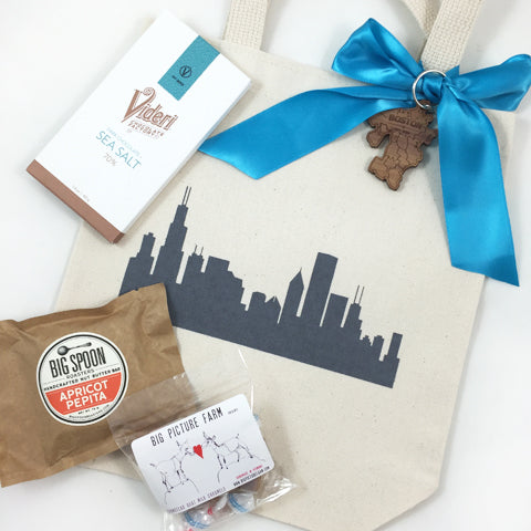 chicago and boston wedding welcome favors