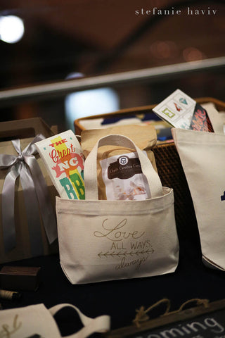 wedding welcome gifts and bags