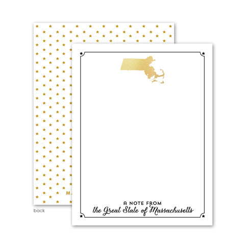 massachusetts wedding welcome bag stationery