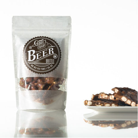 beer brittle for welcome bags