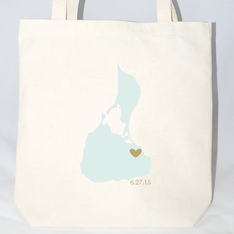 block island wedding welcome bags