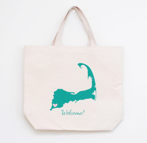 cape cod wedding welcome bags