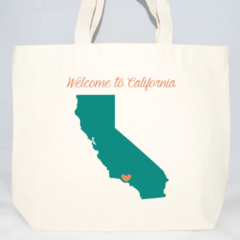 welcome to california hotel welcome bags