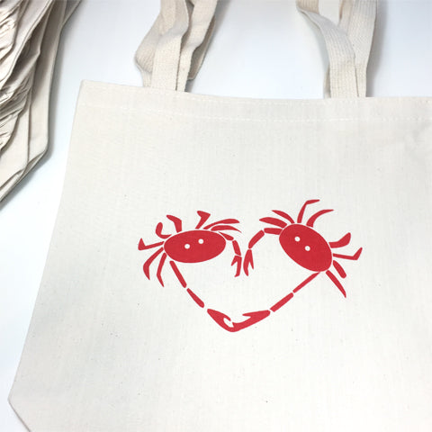 crab totes for ma weddings