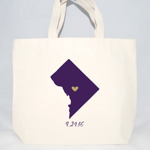 washington dc wedding hotel welcome bags
