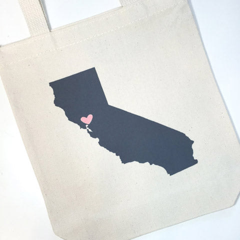 california welcome bags