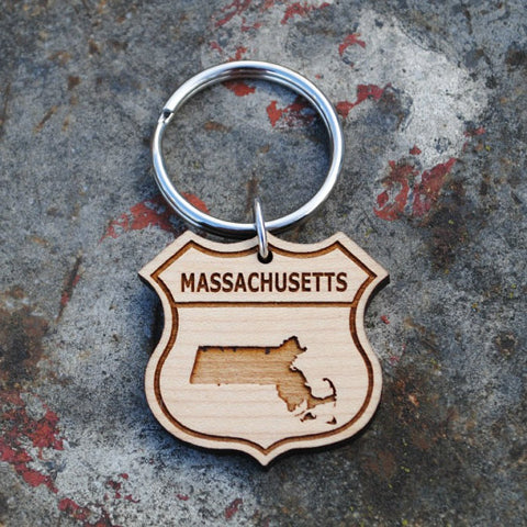 massachusetts keychains for wedding welcome bags