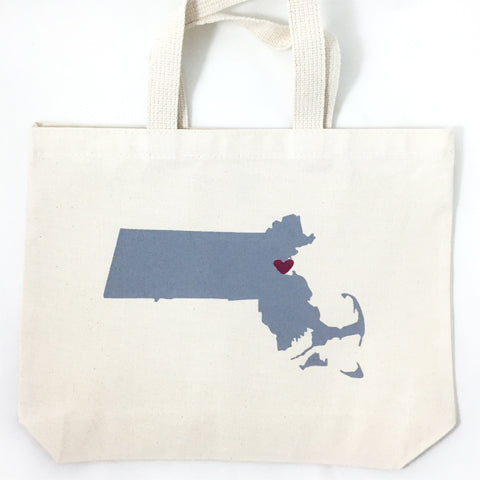 massachusetts welcome tote bags
