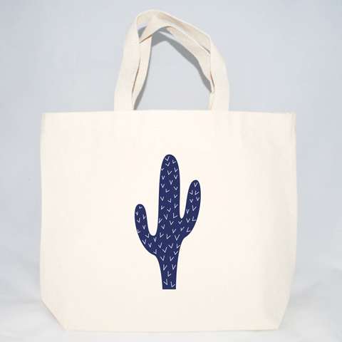 cactus wedding welcome bags